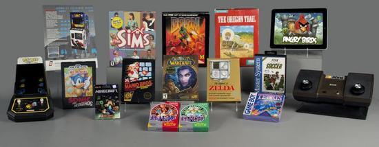 美国博物馆收藏15款知名游戏 《魔兽世界》入选