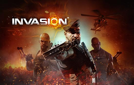 全球首款3D现代战争手游《invasion》 电影级原画泄露