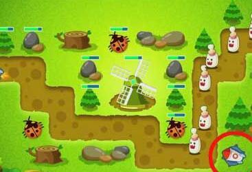 《保卫萝卜》丛林10攻略得金萝卜布阵图