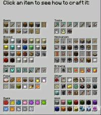 我的世界合成表图片 我的世界游戏介绍