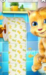 《会说话的金杰》如何扒厕纸才能更快攻略
