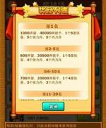 《比武招亲》名扬江湖 声望奖励两不误