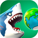 饥饿鲨世界破解版无限钻石和金币