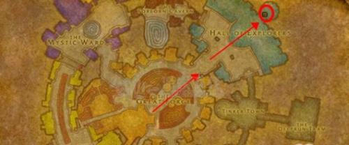 魔兽世界怀旧服基恩萨铁环在什么位置