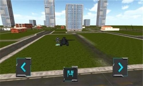 飞行机器人游戏中文版 /><span class=